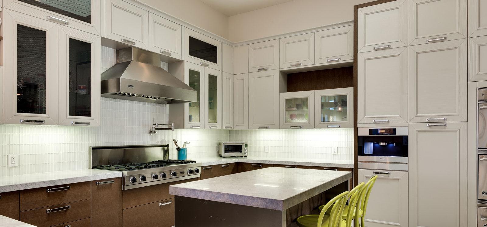 White Theme Kitchen